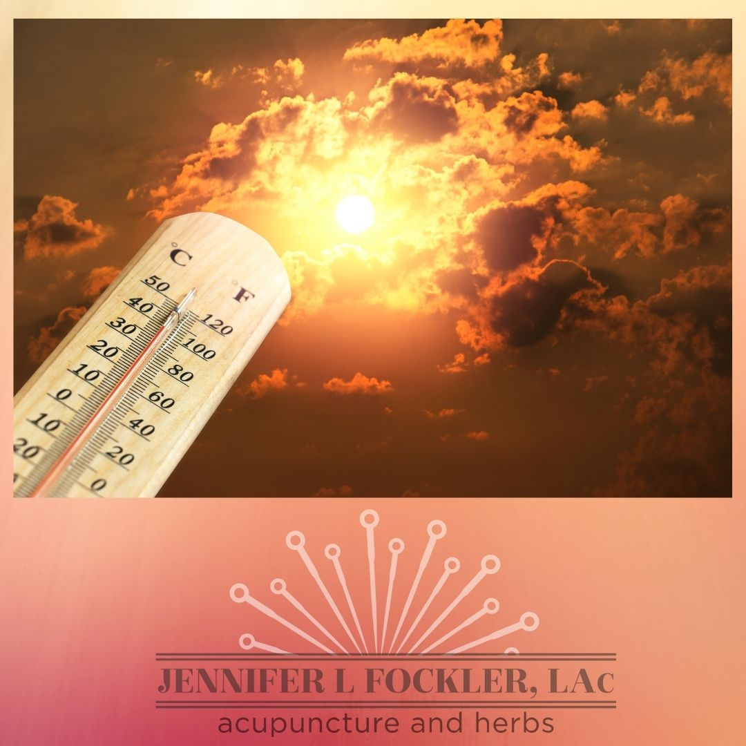 Sun, hot flashes, chicago acupuncture